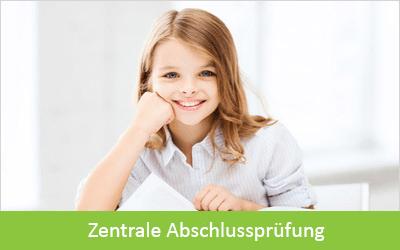 ZENTRALE ABSCHLUSSPRÜFUNG